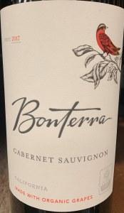 Bonterra Cabernet Sauvignon  2017(750ml)