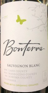 Bonterra Sauvignon Blanc Lake/Mendocino County 2019 - (Organic) (750ML)