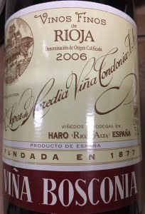 Lopez de Heredia 'Bosconia' Reserva 2006 (750ml)