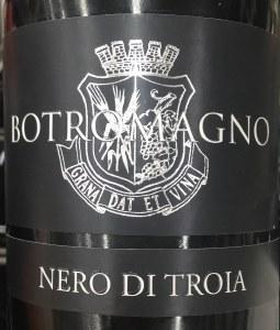 Botromagno Murgia Nero di Troia 2015 (750ml)