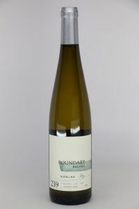 Boundary Breaks No. 239 Dry Riesling Finger Lakes 2018