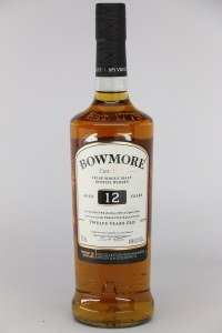 Bowmore 12 Year Old Single Malt Scotch Whisky, Islay (750ML)
