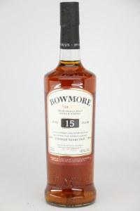 Bowmore 15 Year Old Single Malt Scotch Whiskey, Islay (750ML)