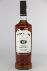 Bowmore 18 Year Old Single Malt Scotch Whiskey, Islay (750ML)