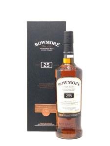 Bowmore 25 Year Old Single Malt Scotch Whisky, Islay (750ML)