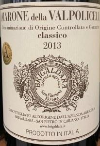 Brigaldara Amarone Classico 2013 (750ml)