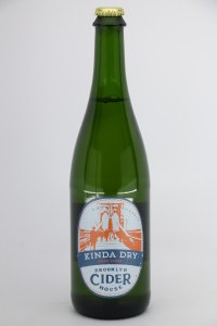 Brooklyn Cider House Kinda Dry Hard Cider (750ML)
