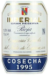 CVNE 'Imperial' Gran Reserva Rioja 1995 (750ml)