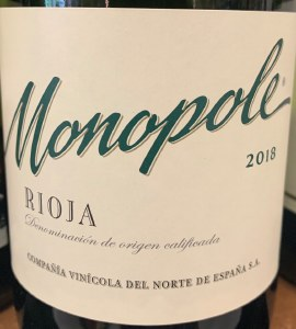 CVNE 'Monopole' Viura Blanco Rioja 2018 (750ML)