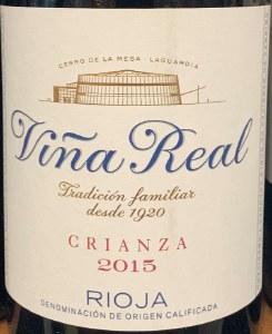 CVNE 'Vina Real' Crianza Rioja 2016 (750ML)