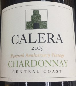 Calera Chardonnay Central Coast 2015 -  WS 89pts (750ML)