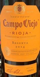Campo Viejo Rioja Reserva Red 2016 (750ML)