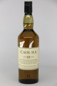 Caol Ila 12 Year Old Single Malt Scotch Whiskey, Islay (750ML)