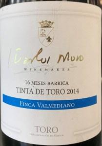 Carlos Moro Finca Valmediano Toro 2014 (750ml)