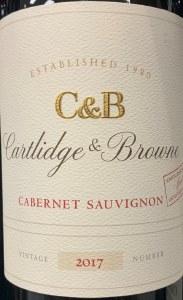 Cartlidge & Browne Cabernet Sauvignon California 2017 (750ML)