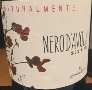 Caruso & Minini Naturalmente Bio Nero d'Avola 2018 (750ml)