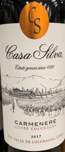 Casa Silva 'Cuvee Colchagua' Carmenere 2018 (750ml)