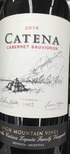 Catena 'High Mountain Vines' Cabernet Sauvignon Mendoza 2015 (750ml)