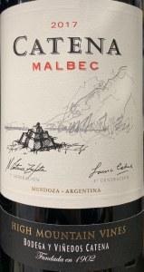 Catena Zapata Malbec High Mountain Vines 2018 (750ml)