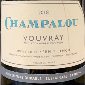 Champalou Vouvray 2018 (750ml)