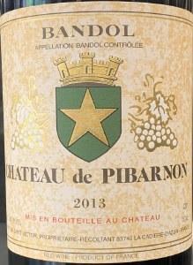 Chateau Pibarnon Bandol Rouge Mourvedre 2013 (.750L)