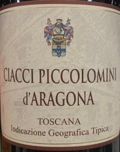 Ciacci Piccolomini d'Aragona Rosso di Toscana 2017 (750ml)