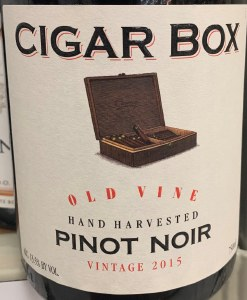 Cigar Box Old Vine Pinot Noir 2015 (750ml)