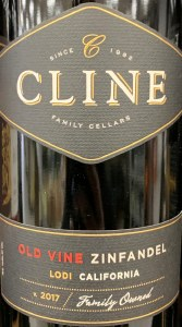 Cline Old Vine California Zinfandel 2017(750ML)