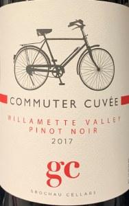 Grochau Cellars Commuter Cuvee Pinot Noir Willamette Valley 2017 (750ml)