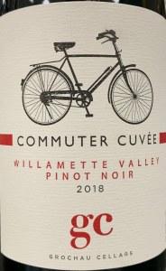 Grochau Cellars Commuter Cuvee Pinot Noir Willamette Valley 2018 (750ml)