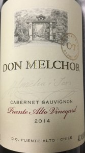 Concha y Toro 'Don Melchor' Puente Alto Maipo Valley 2015 (750ml)