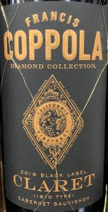 Coppola 'Diamond' Claret Cabernet Blend California 2016 (750ml)