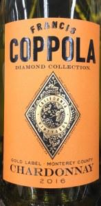 Francis Coppola Chard 'Diamond Collection' Monterey County 2018 (750ML)