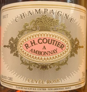 R.H. Coutier 'Ambonnay Brut Rose Champagne NV (750ML)
