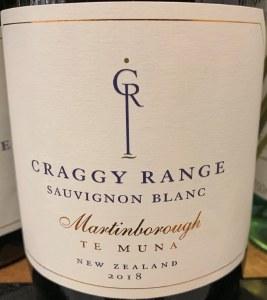 Craggy Range 'Te Muna Road' Sauvignon Blanc Martinborough 2018 (750ML)