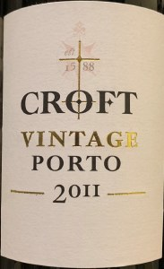 Croft Vintage Porto 2011 (750ML) - WS97