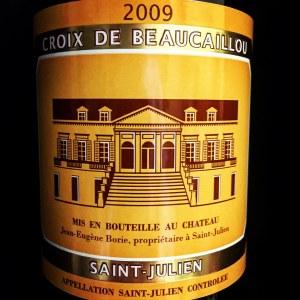 Chateau La Croix de Beaucaillou 2009