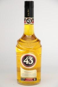 """Cuarenta y Tres """"Licor 43"""" .750L"""