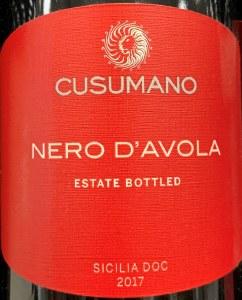 Cusumano Nero d'Avola Terre Siciliane 2017 (750ml)