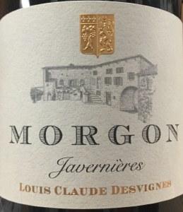 Louis Claude Desvignes Javernieres Morgon Cru Beaujolais 2018 (750ml)