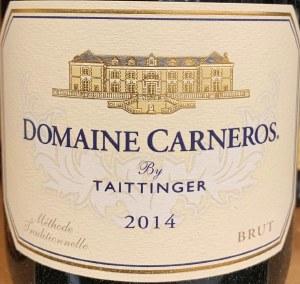 Domaine Carneros by Taittinger Brut Sparkling Wine 2014 (750ml)