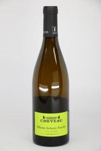 Domaine Cheveau Macon Solutre-Pouilly 2018