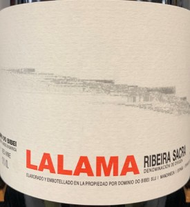 Dominio do Bibei Lalama Rebeira Sacra Tinto 2015 (750ml)