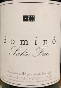 Vitor Claro Domino Salao Frio 2016 (750ml)