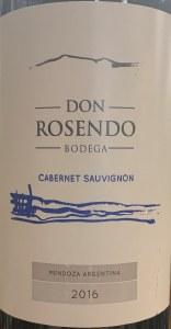 Don Rosendo Cabernet Sauvignon (750ml)