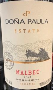 Dona Paula Estate Malbec Mendoza 2017(750ML)
