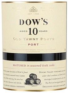 "Dow's ""10 Year Old"" Tawny Porto NV (750ML)"