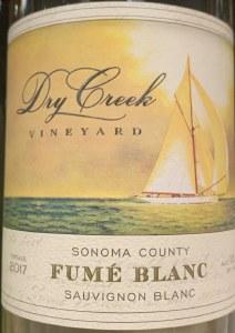 Dry Creek Fume Blanc Sonoma County 2017 (750ml)