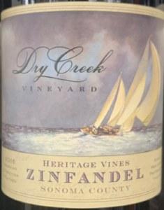 Dry Creek Heritage Vines Sonoma Zinfandel 2017 (750ML)