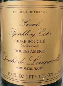Duche Longueville Dry French Sparkling Apple Cider NV (750ml)